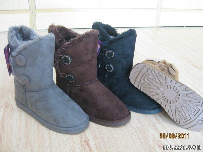 冬季女款棉鞋 雪地靴便宜大甩卖